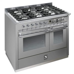 Ascot 100cm Cooker In Stainless Steel (Carton Damaged)