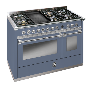 Ascot 120cm Combi-Steam Upright Cooker with 1 Wok & 1 BBQ Grill Plate