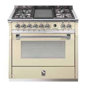 Ex Display 90cm Freestanding Cooker A9S-4T CR-C