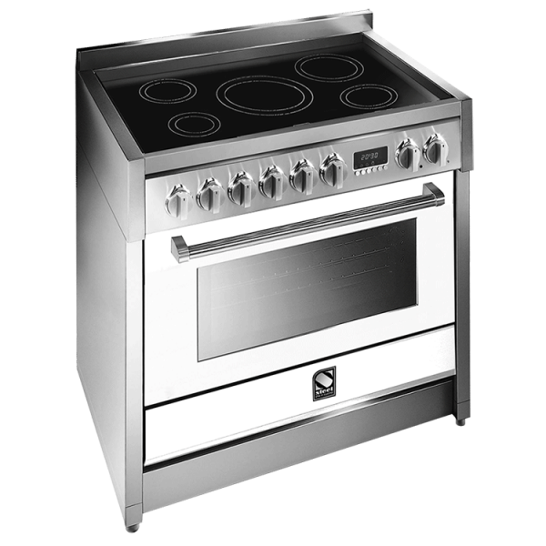 Genesi 90cm combination steam Induction Upright Cooker G9S-6I