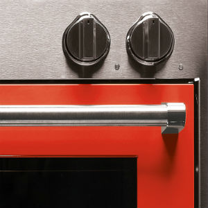 Built In Oven Colour Range Red