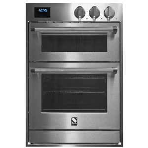 GFFE6-S WH-C - Steel Built-In Double Oven in Stainless Steel