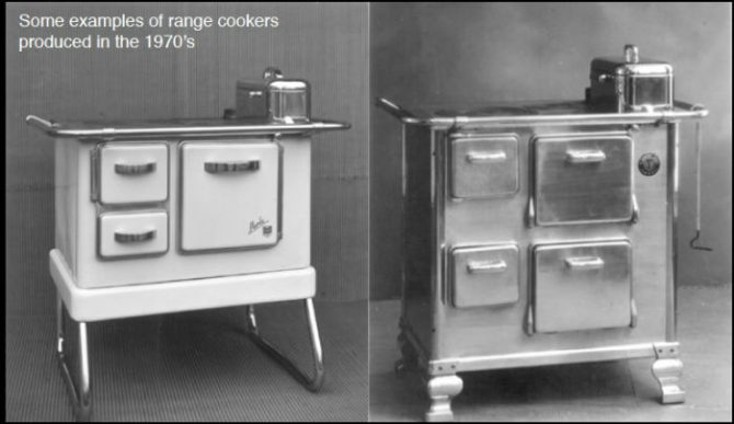 1970's Range Cookers from Steel Brand